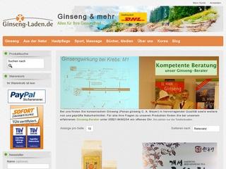 Ginseng-Laden.de - Gütesiegel, Bewertungen, Erfahrungen