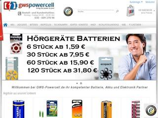 GWS-Powercell - Gütesiegel, Bewertungen, Erfahrungen