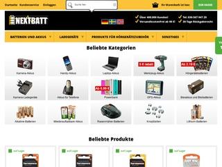 Nextbatt.de - Gütesiegel, Bewertungen, Erfahrungen