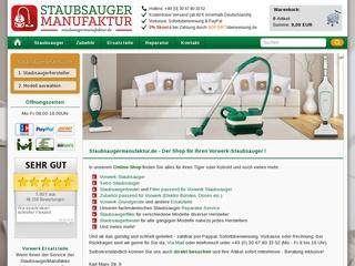 Staubsaugermanufaktur - Gütesiegel, Bewertungen, Erfahrungen