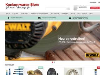 Konkurswaren Blom - Gütesiegel, Bewertungen, Erfahrungen