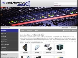 PA-Versandhaus - Gütesiegel, Bewertungen, Erfahrungen