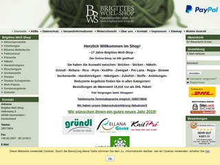 Brigittes-Woll-Shop - Gütesiegel, Bewertungen, Erfahrungen